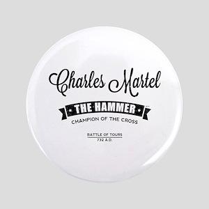"""Charles Martel 3.5"""" Button"""