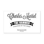 Charles Martel Rectangle Car Magnet