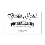 Charles Martel Car Magnet 20 x 12