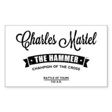 Charles Martel Sticker