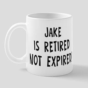 Jake: retired not expired Mug