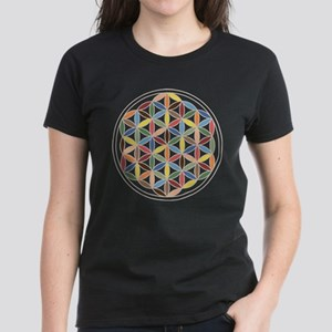 Flower of Life Retro Cols T-Shirt