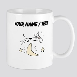 Custom Cow Jumping Over Moon Mugs
