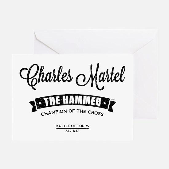 Charles Martel Greeting Cards