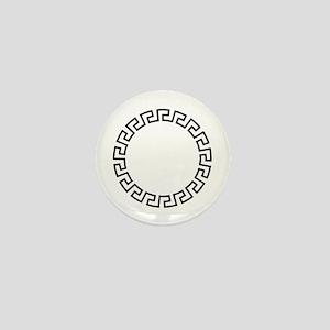 GREEK KEY CIRCLE Mini Button