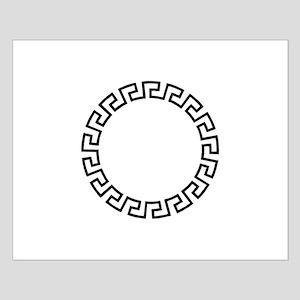 GREEK KEY CIRCLE Posters