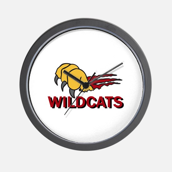 WILDCATS CLAW Wall Clock