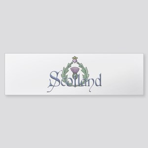 Scotland: Thistle Sticker (Bumper)