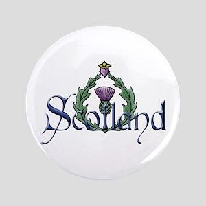 Scotland: Thistle Button