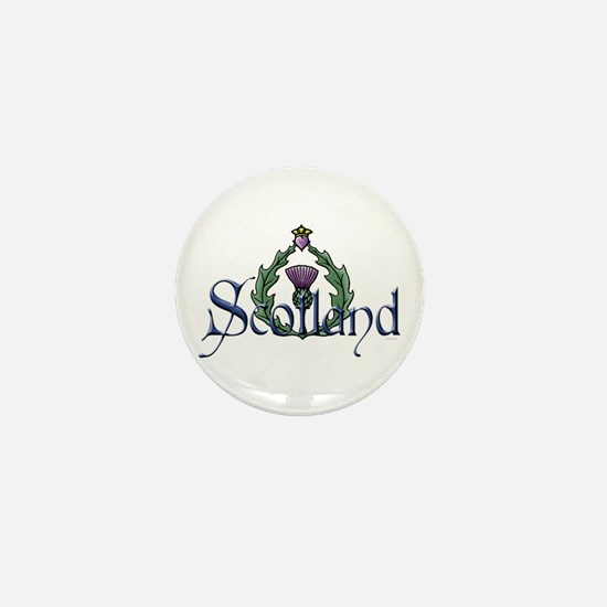 Scotland: Thistle Mini Button