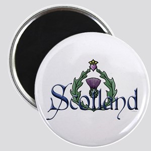 Scotland: Thistle Magnet