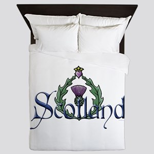 Scotland: Thistle Queen Duvet