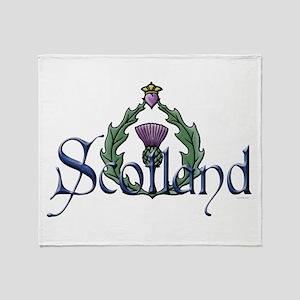 Scotland: Thistle Throw Blanket