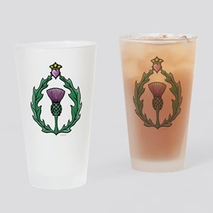 Scotland: Thistle Drinking Glass