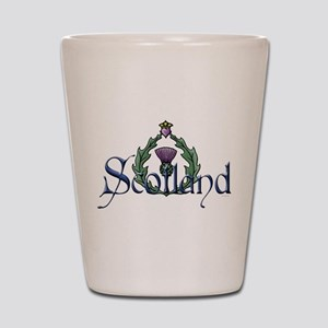 Scotland: Thistle Shot Glass