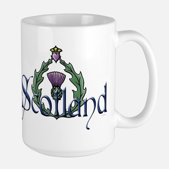 Scotland: Thistle Large Mug