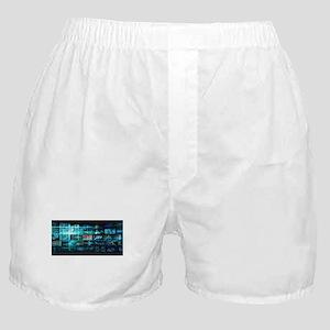 Information Techno Boxer Shorts