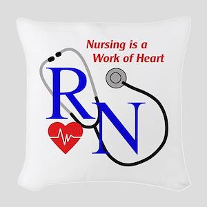 WORK OF HEART Woven Throw Pillow