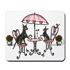 Manchester Terrier Coffee Time Mousepad