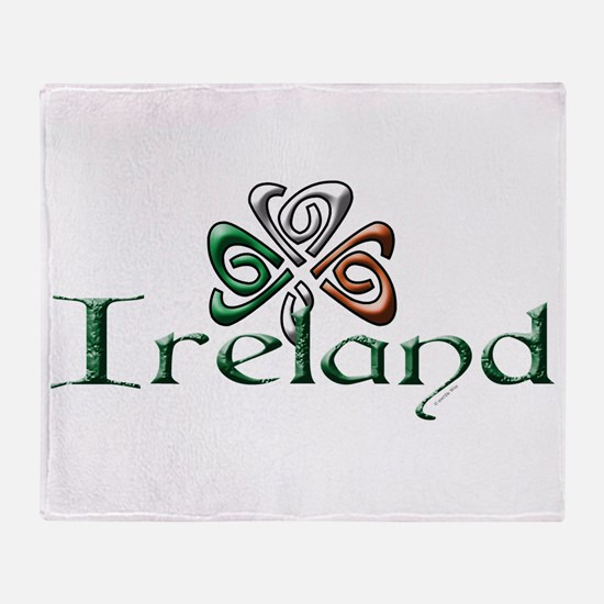 Ireland.png Throw Blanket
