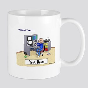 Computer Worker - Gamer, Male Mugs