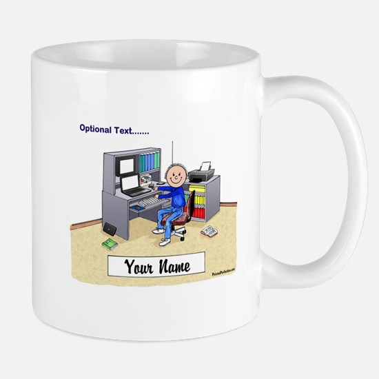 Computer Worker - Gamer, Male Mugs