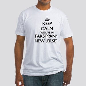 Keep calm we live in Parsippany New Jersey T-Shirt