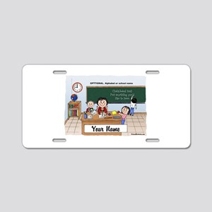 Teacher Middle-Grade School, Female Aluminum Licen