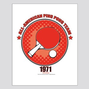 Forrest Gump Ping Pong Small Poster