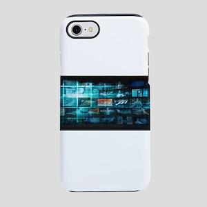 Information Techno iPhone 7 Tough Case
