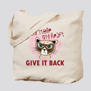 You Stole My Heart - Give it back Tote Bag