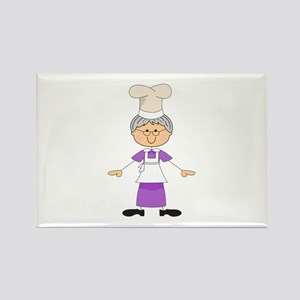 WOMAN CHEF Magnets