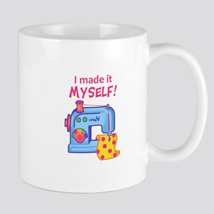 I MADE IT MYSELF Mugs