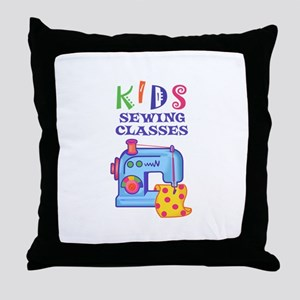 KIDS SEWING CLASSES Throw Pillow