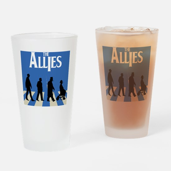 Allies Road Drinking Glass