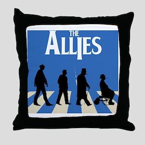 Allies Road Throw Pillow