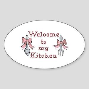 Welcome To My Kitchen Sticker
