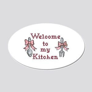 Welcome To My Kitchen Wall Decal