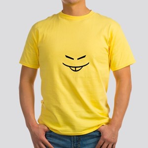 """Asian Camouflage"" Yellow Tee"