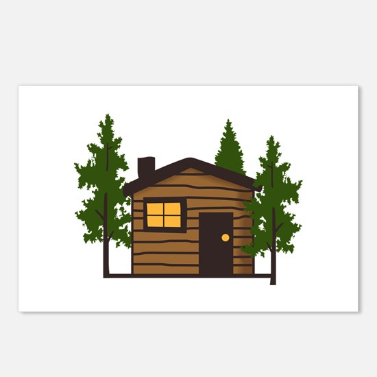 LITTLE CABIN Postcards (Package of 8)