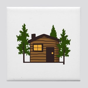 LITTLE CABIN Tile Coaster