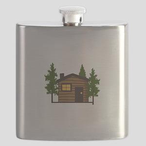 LITTLE CABIN Flask