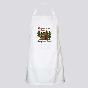 Welcome To Our Home Away From Home Apron