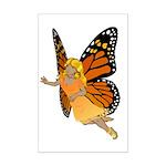 Faerie Art Mini Poster Print Butterfly Faerie Art