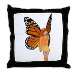 Faerie Art Throw Pillow Butterfly Faerie Pillow