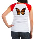 Butterfly Wings Women's Cap Sleeve T-Shirt