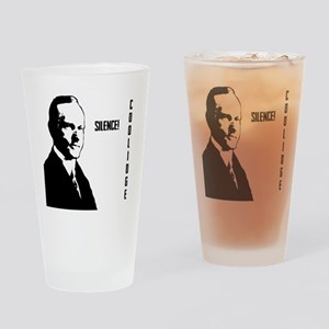Silent Cal Drinking Glass