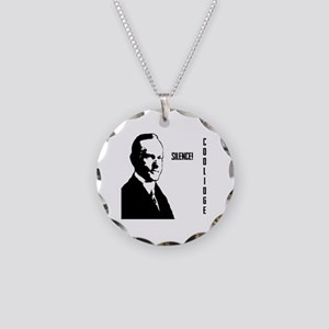 Silent Cal Necklace Circle Charm