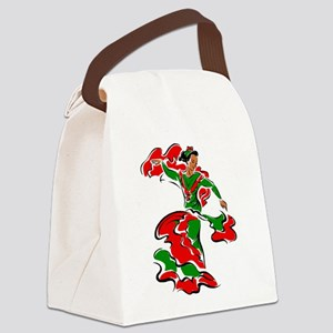 Mexican Dancer Canvas Lunch Bag