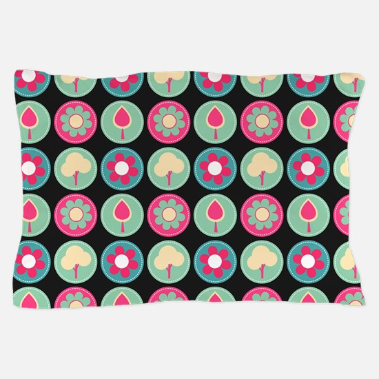 Beautiful Trendy Girly Floral Pattern Pillow Case